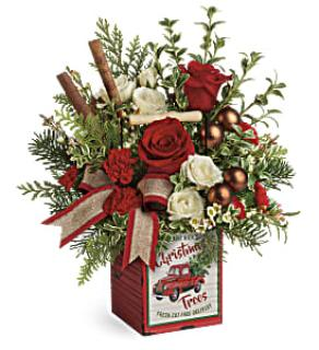 Quaint Christmas Bouquet