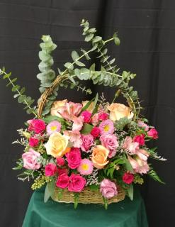 The Rose Garden Basket