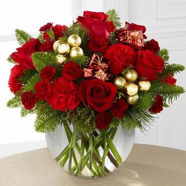 The Holiday Gold Bouquet