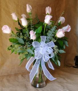 Elegant Long Stemmed Roses - Pick your color!