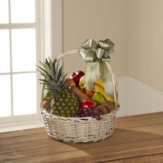 Sympathy Basket of Fruits